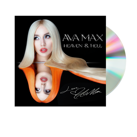 "Ava Max ""Heaven & Hell"" CD with Signed Insert"