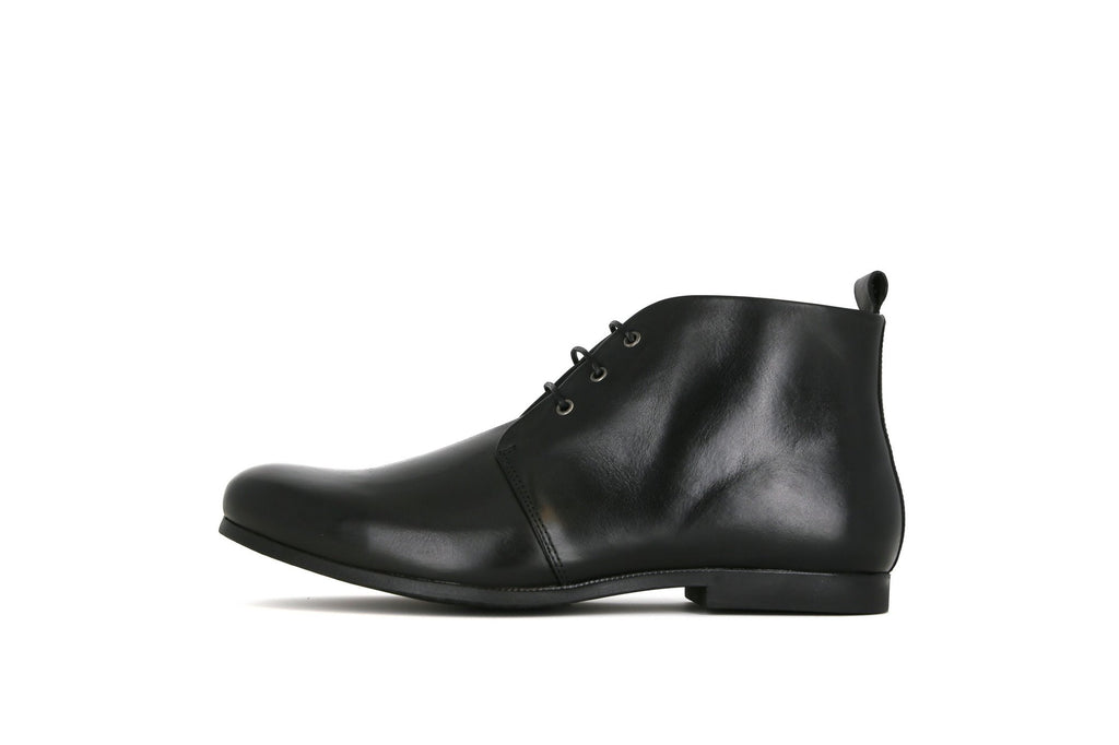 Royal Republiq Shoes Cast Derby Midcut Black