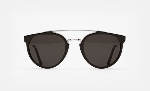 Retrosuperfuture Sunglasses Giaguaro Black