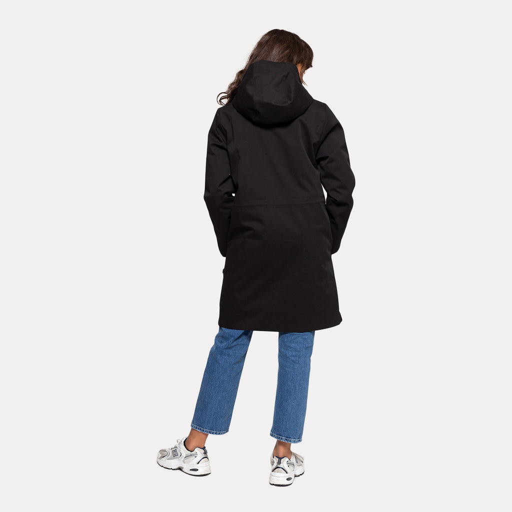 Selfhood Parka Jacket Black