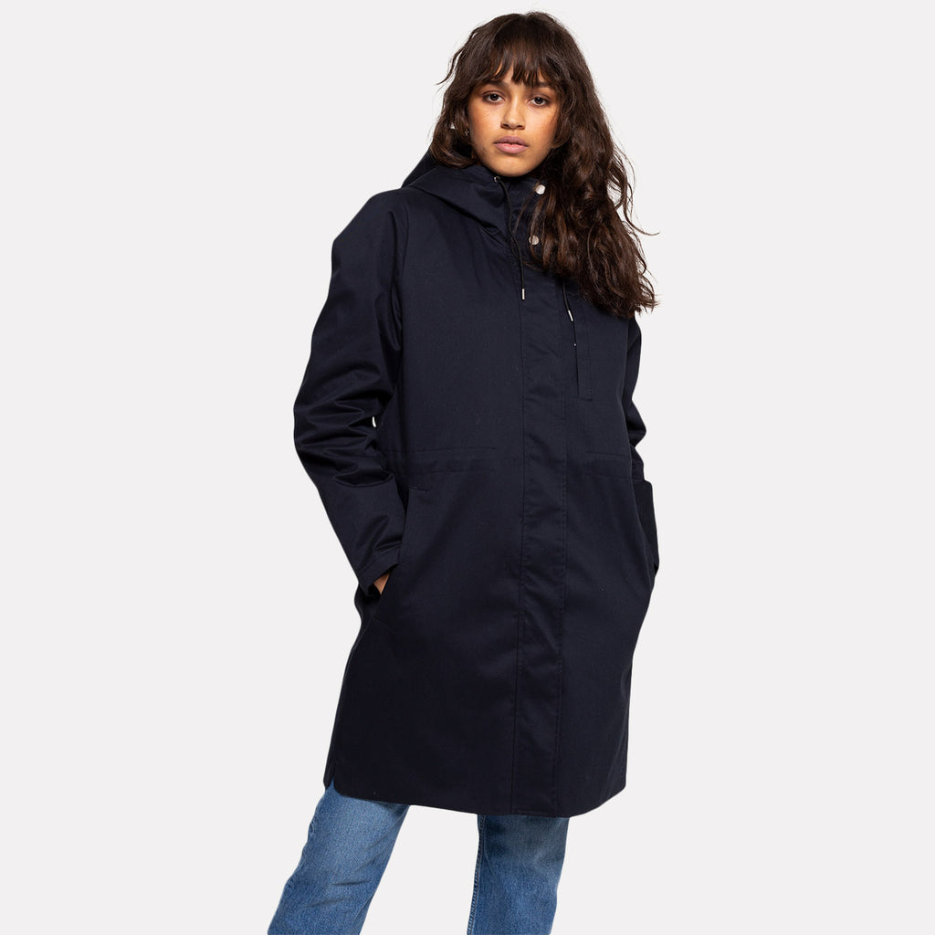 Selfhood Parka Jacket Navy