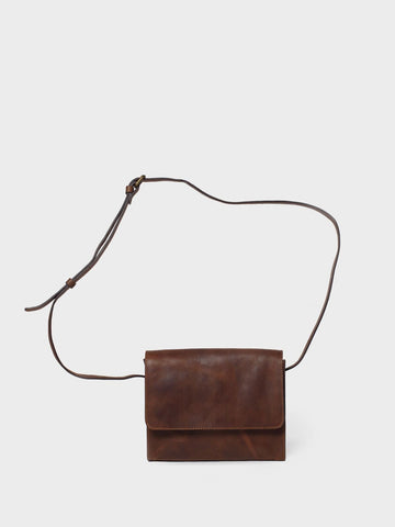 This is Park Crossbody Bag CB01 Dark Brown
