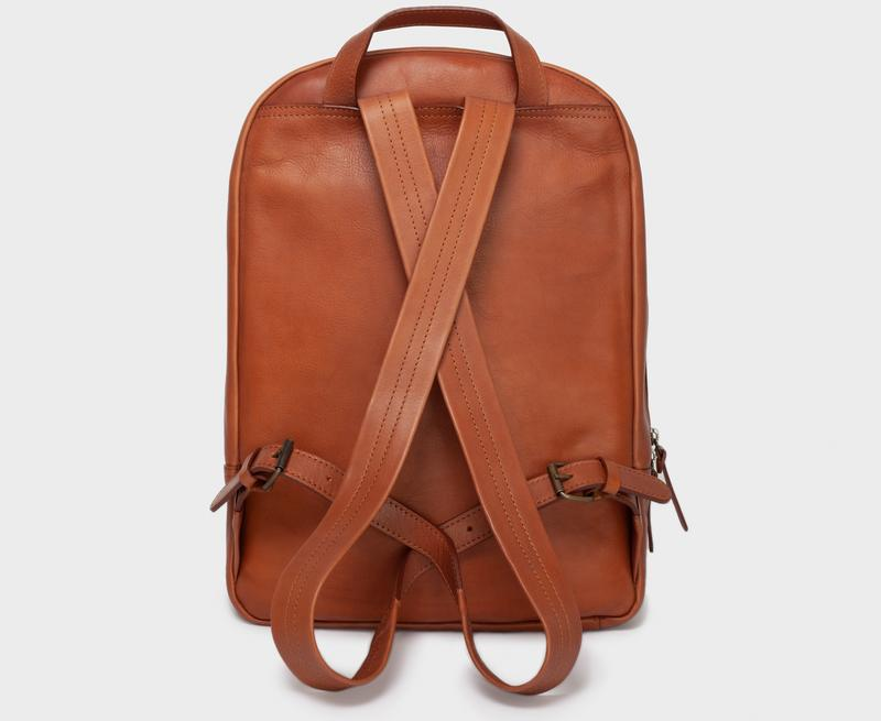 This is Park Backpack BP02 Light Brown