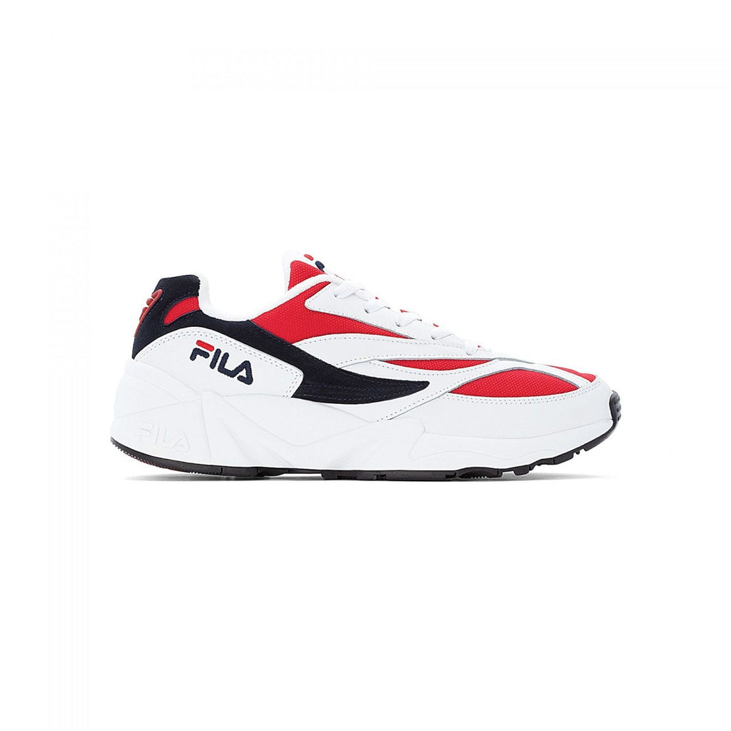 Fila Shoes V94M Low White-Navy-Red