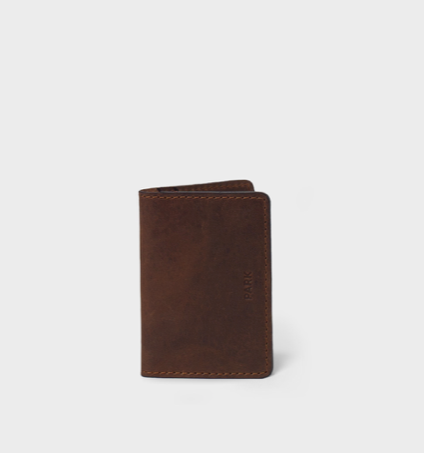 This Is Park Card Case Dark Brown