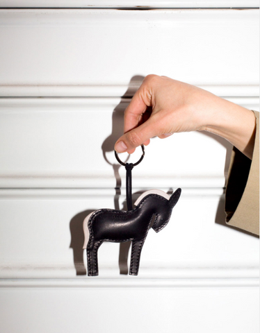 This is Park Key Chain Leather Donkey