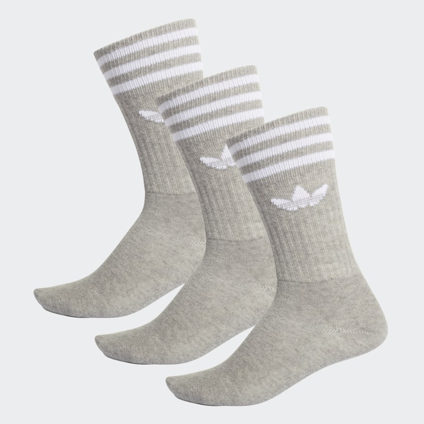 Adidas Originals Crew Socks Heather Grey
