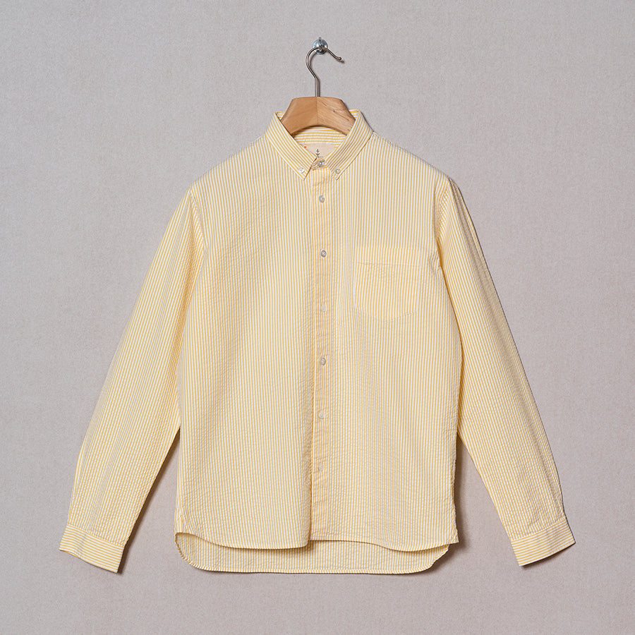 La Paz Shirt Laranjeira Yellow Stripes
