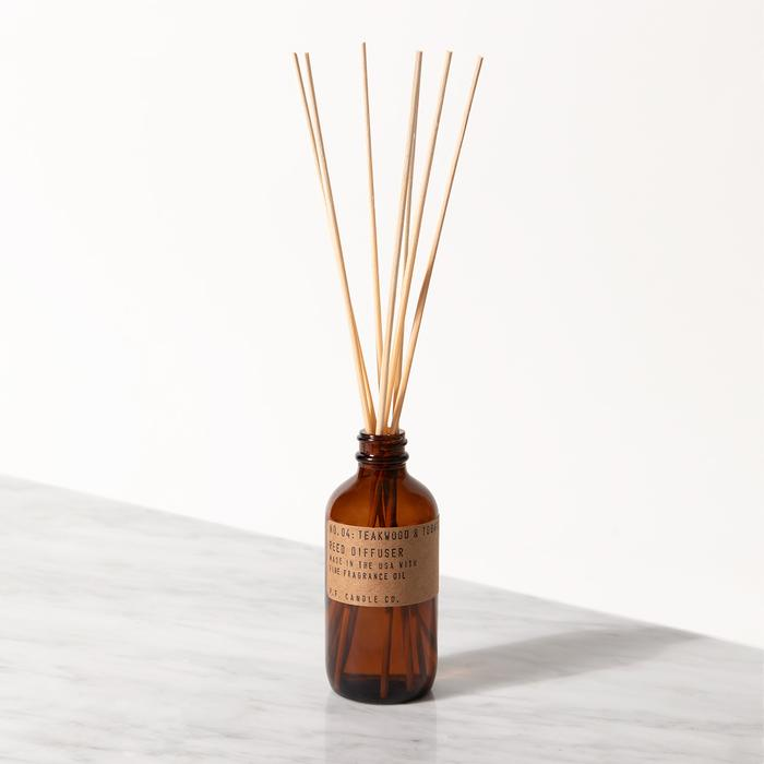 P.F. Candle Co. Room Diffuser Teakwood & Tobacco