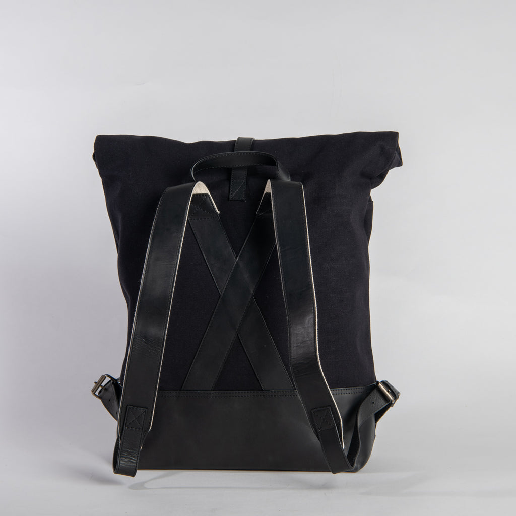 Arniko Backpack Roll Up All Black