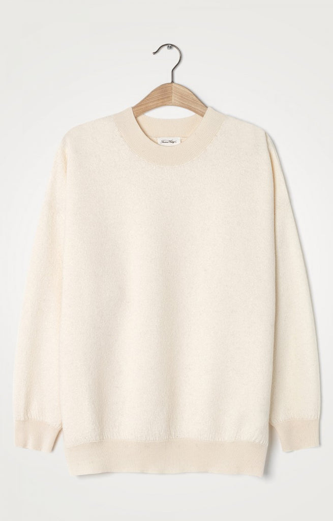 American Vintage Sweater Tadbow Cream