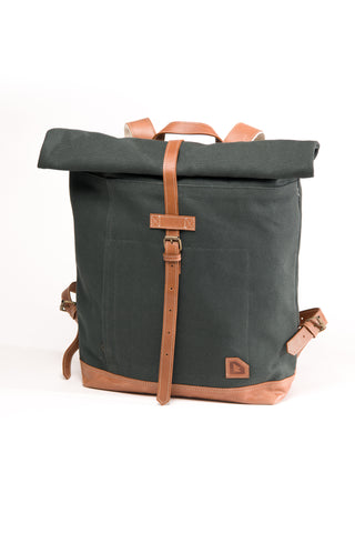 Arniko Backpack Roll Up Dark Green