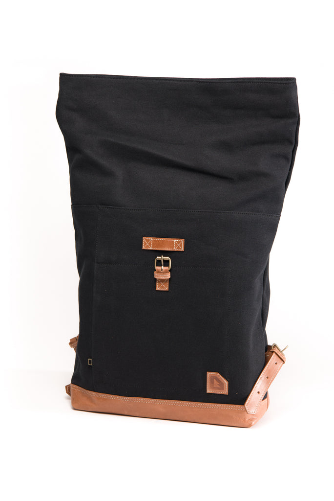 Arniko Backpack Roll Up Black