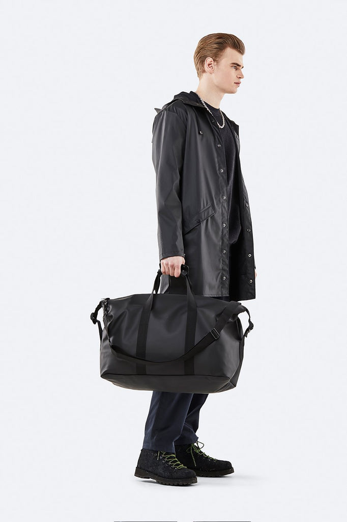 Rains Weekender Bag Black