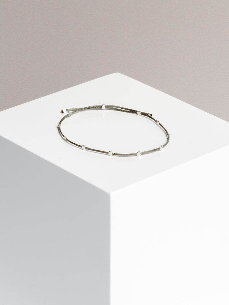 Yoomee Bracelet 10 Dots Space Grey/Silver