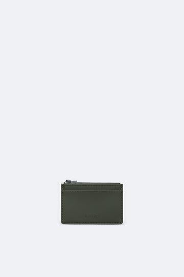 Rains Zip Wallet Green
