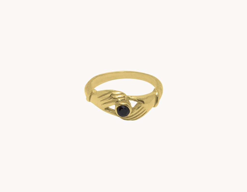 Flawed Ring Artisan Gold