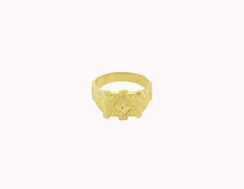 Flawed Ring Majestic Gold
