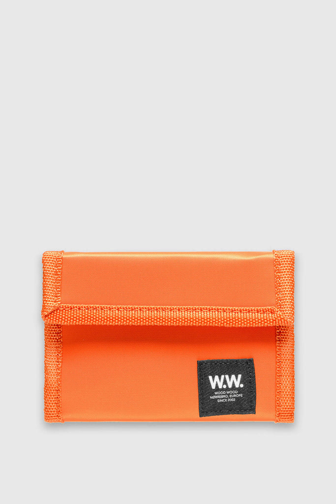 Wood Wood Wallet Marley Velcro Rust