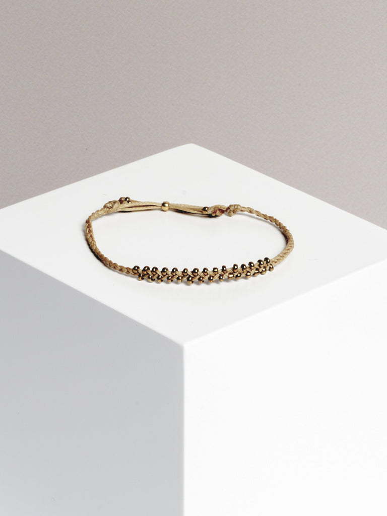 Yoomee Bracelet Little Marrakech Taupe/Gold