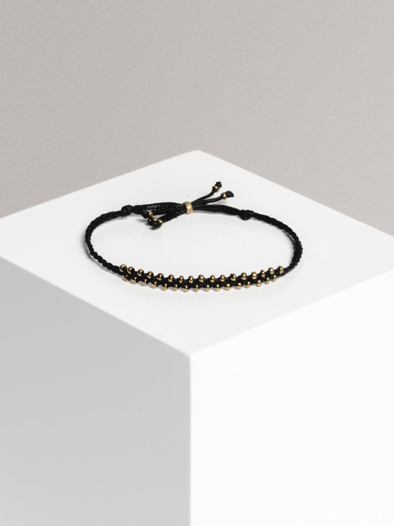 Yoomee Bracelet Little Marrakech Black/Gold