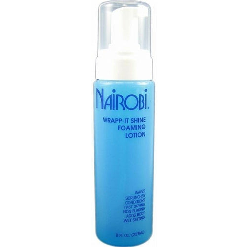 Nairobi Wrapp-It Shine Foaming Lotion 8 oz.