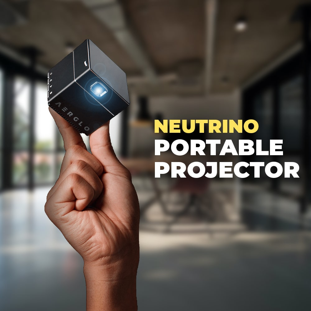 Neutrino | Smallest Portable Projector