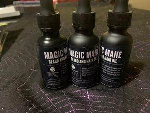 Magic Mane: beard and hair oil