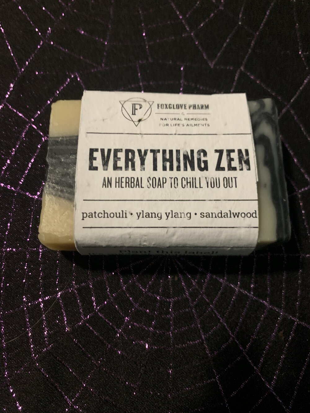 Everything Zen soap
