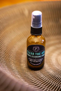 Clear the Air: Herbal Cleansing Spray