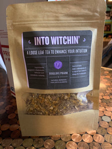 Into Witchin: intuition tea