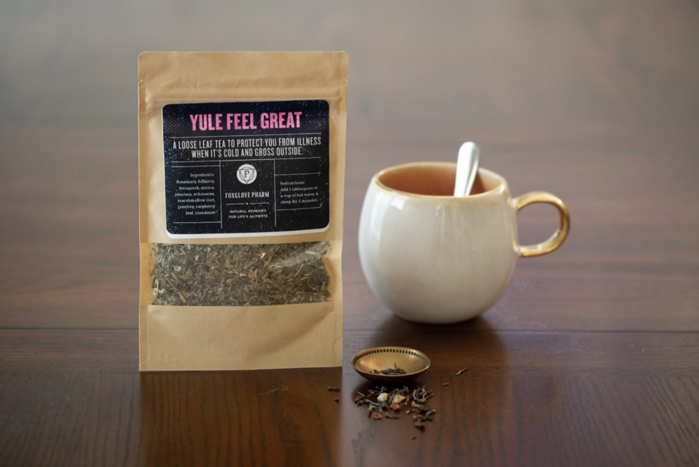 Yule Feel Great: winter survival tea