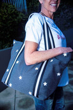 Load image into Gallery viewer, Betty Basics Star Beach Bag