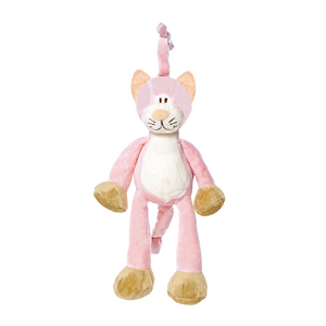 Pink Cat Musical Plush