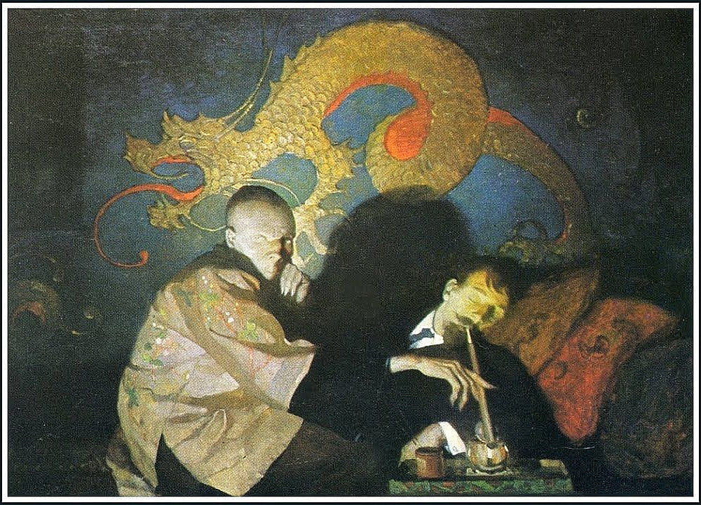 The Opium Smoker (1913) by N.C. Wyeth Print