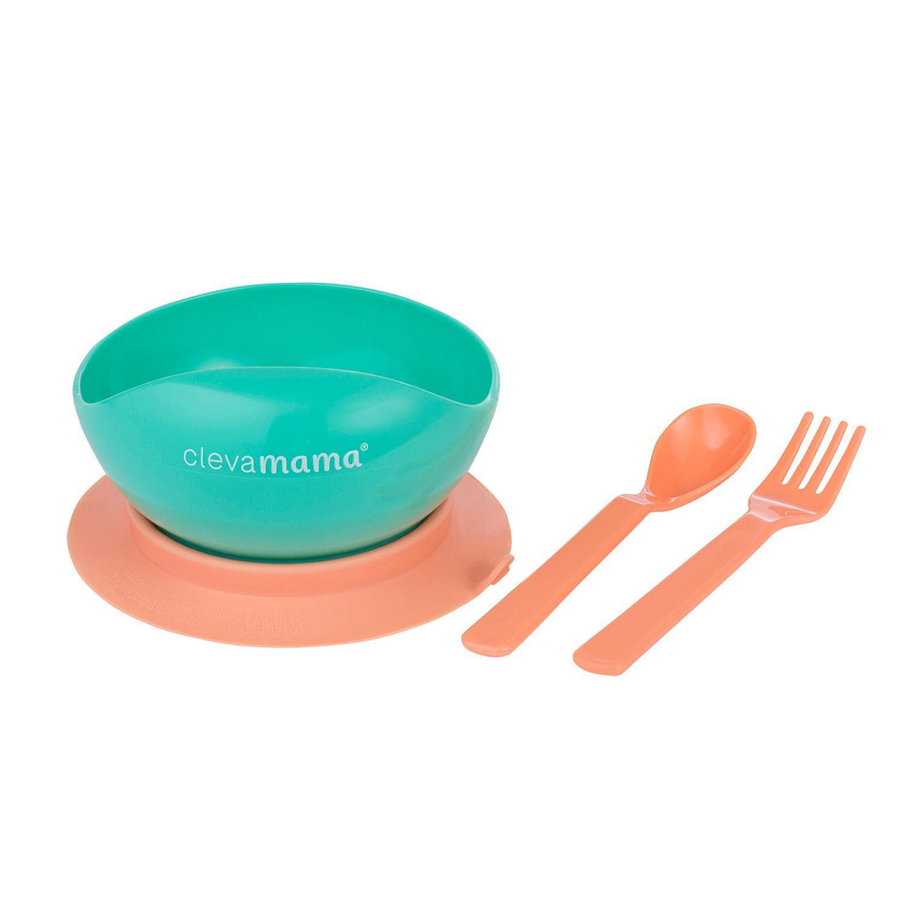 Feeding Baby Bowl & Cutlery