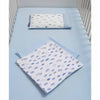 Moses Basket, Crib, & Pram Pillow Case - 100% Natural Cotton