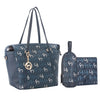 Hannah Tote Baby Changing Bag - Navy