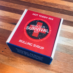 Winter Survival Kit - One Each, 8 fl oz Hot Toddy & Mulling Syrup
