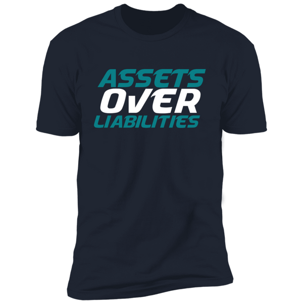 Assets Over Liabilities SS Tee
