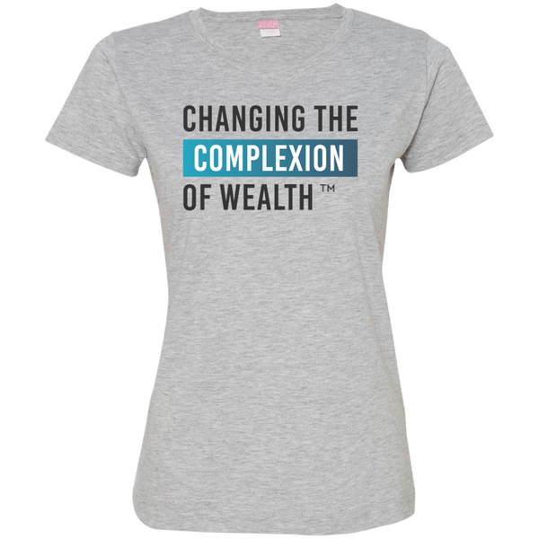 Changing Wealth Women's Tee