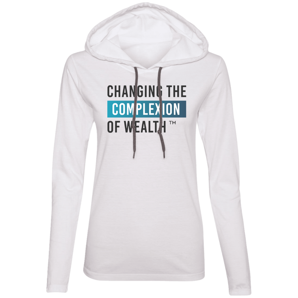 Changing Wealth Women's Tee Hoodie