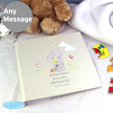 Personalised Tiny Tatty Teddy Cuddle Bug Album with Sleeves - Under A Rainbow
