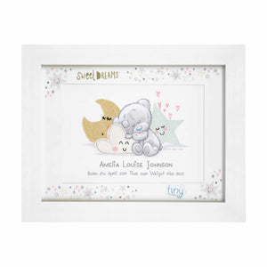 Tiny Tatty Teddy Sweet Dreams A4 Framed Print