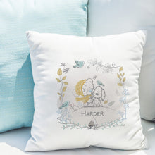 Load image into Gallery viewer, Tiny Tatty Teddy Autumn Leaves Border Cushion