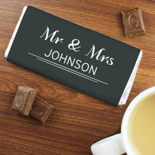 Load image into Gallery viewer, Personalised Classic Milk Chocolate Bar