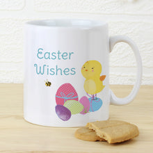 Load image into Gallery viewer, Personalised Easter Meadow Chick Mug