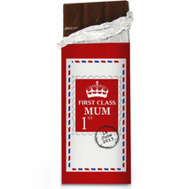 Load image into Gallery viewer, Personalised 1st Class Milk Chocolate Bar