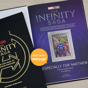 Personalised Marvel Infinity Saga Collection Storybook