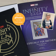 Load image into Gallery viewer, Personalised Marvel Infinity Saga Collection Storybook
